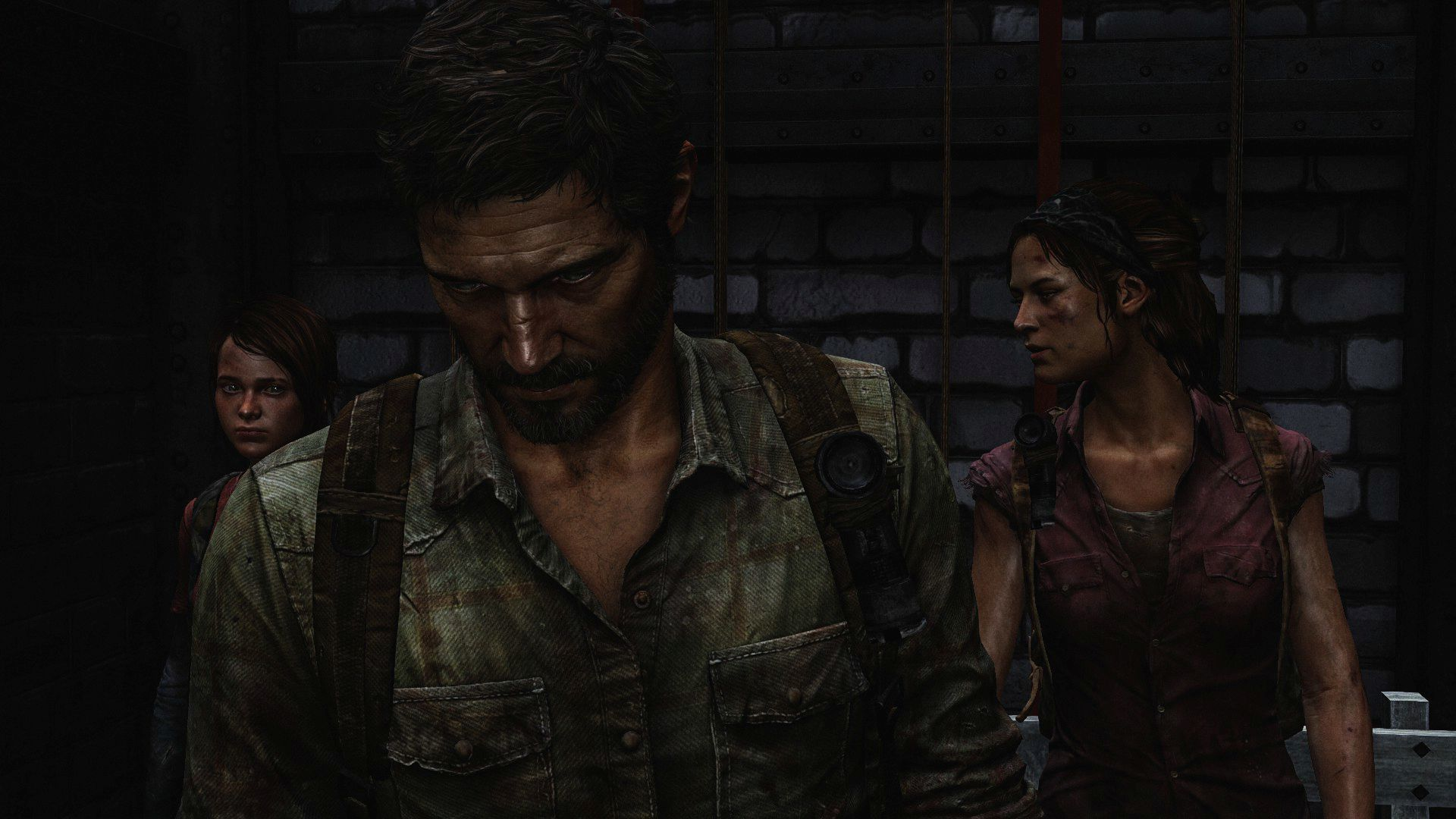 Ellie and Joel   The Last of Us Widescreen Wallpaper   19663 1920x1080