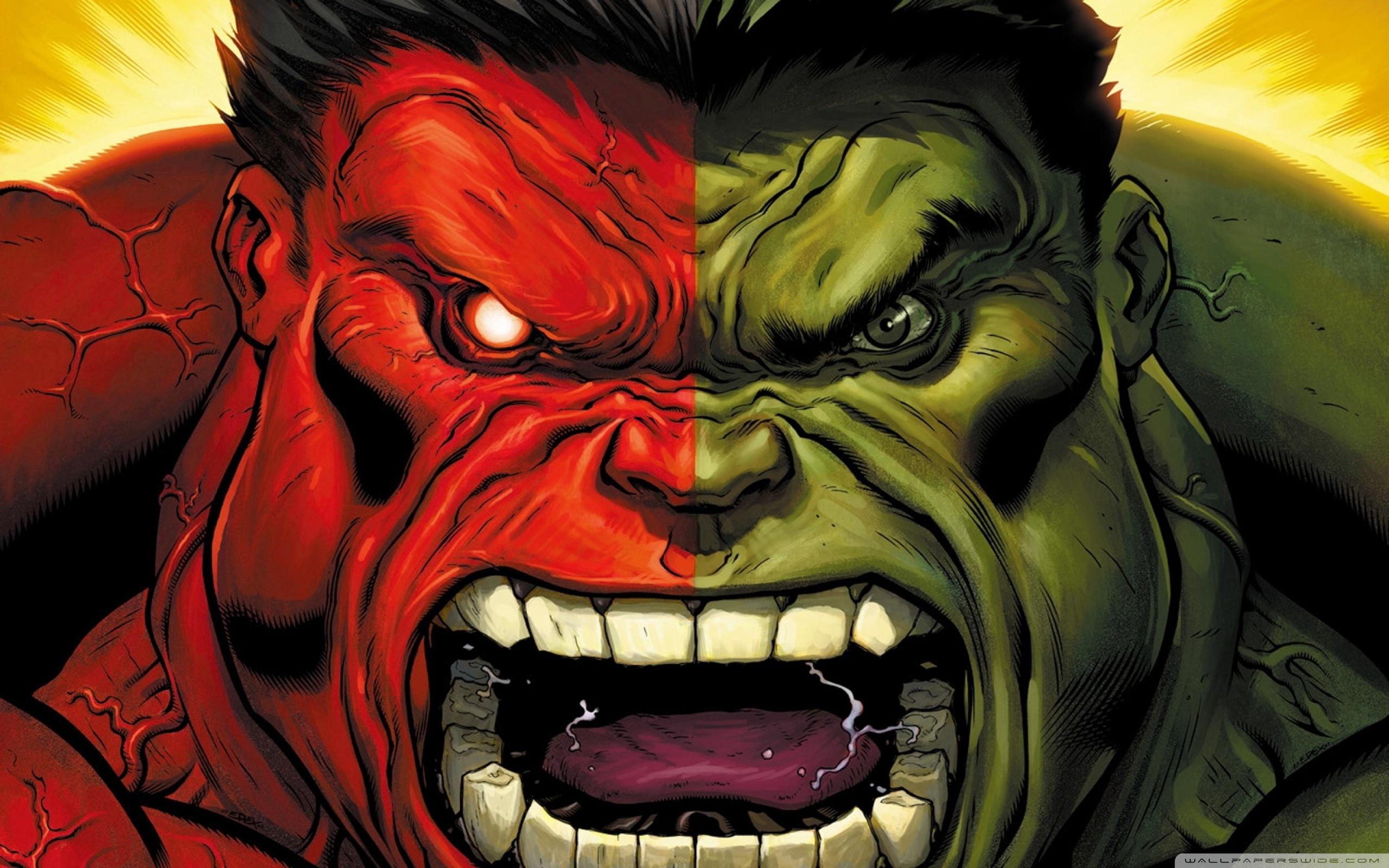 [24+] Hulk Vs Red Hulk Wallpapers on WallpaperSafari
