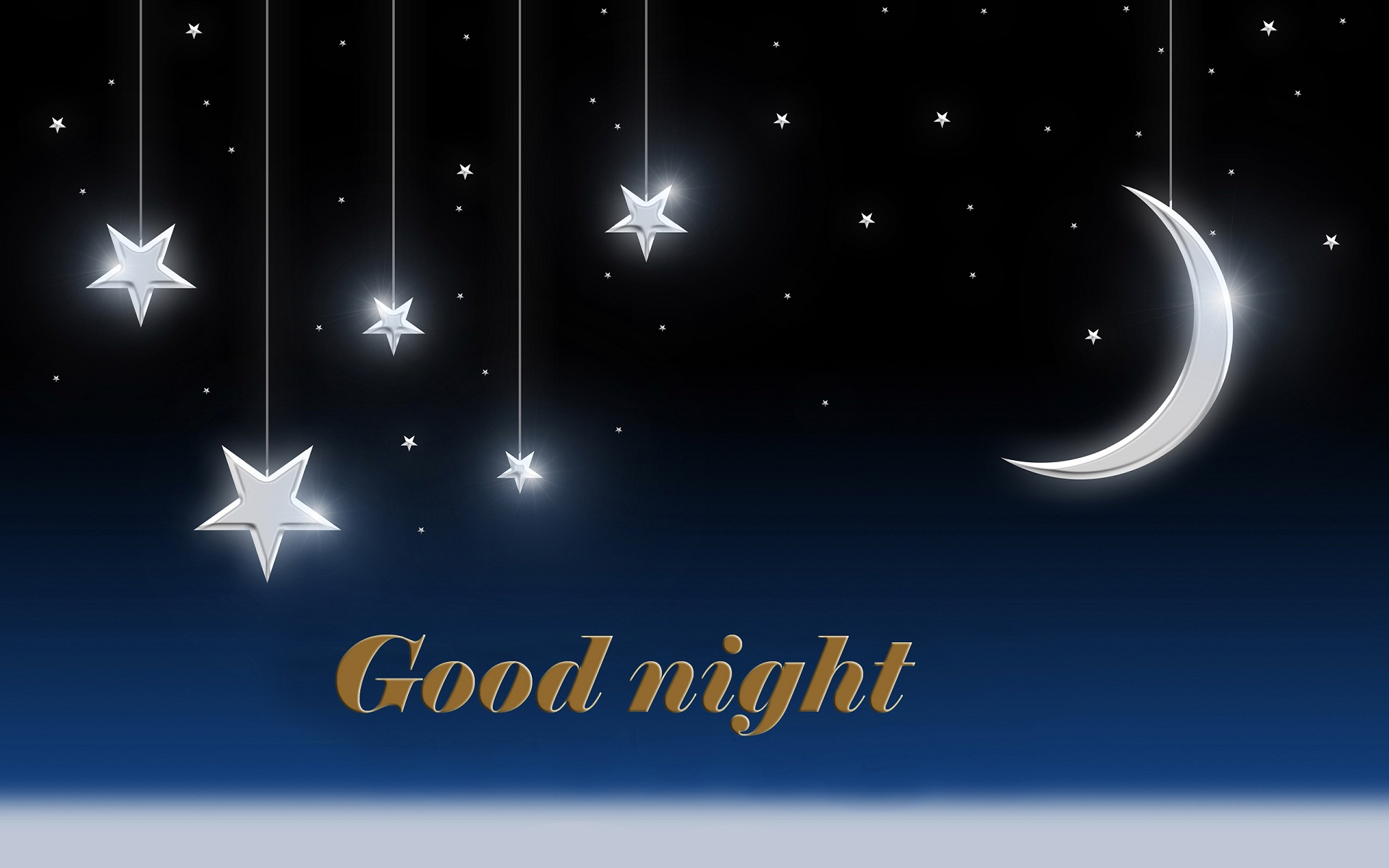 Free download Good night moon star with ...