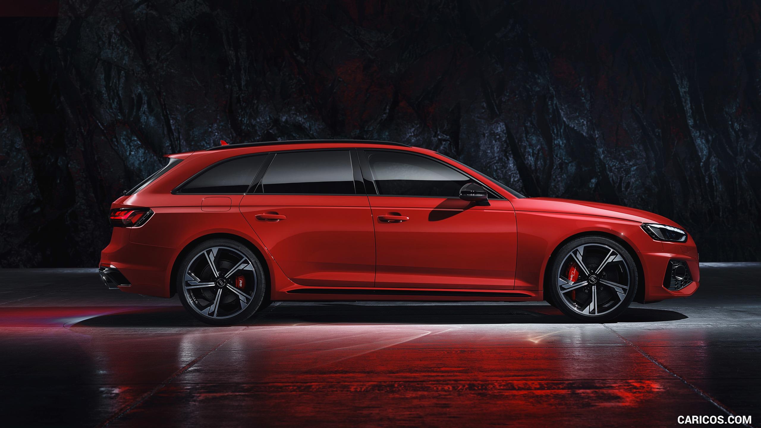 2020 Audi RS 4 Avant Color Tango Red HD Wallpaper 33 2560x1440