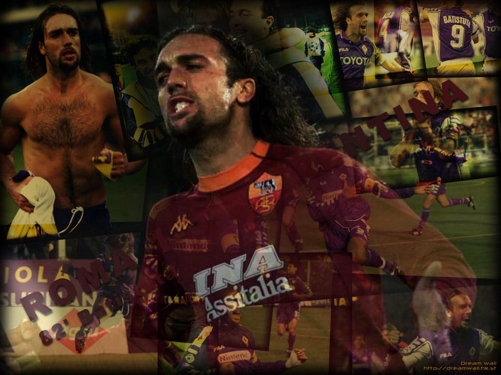 Gabriel Batistuta Football Wallpaper 1024x768
