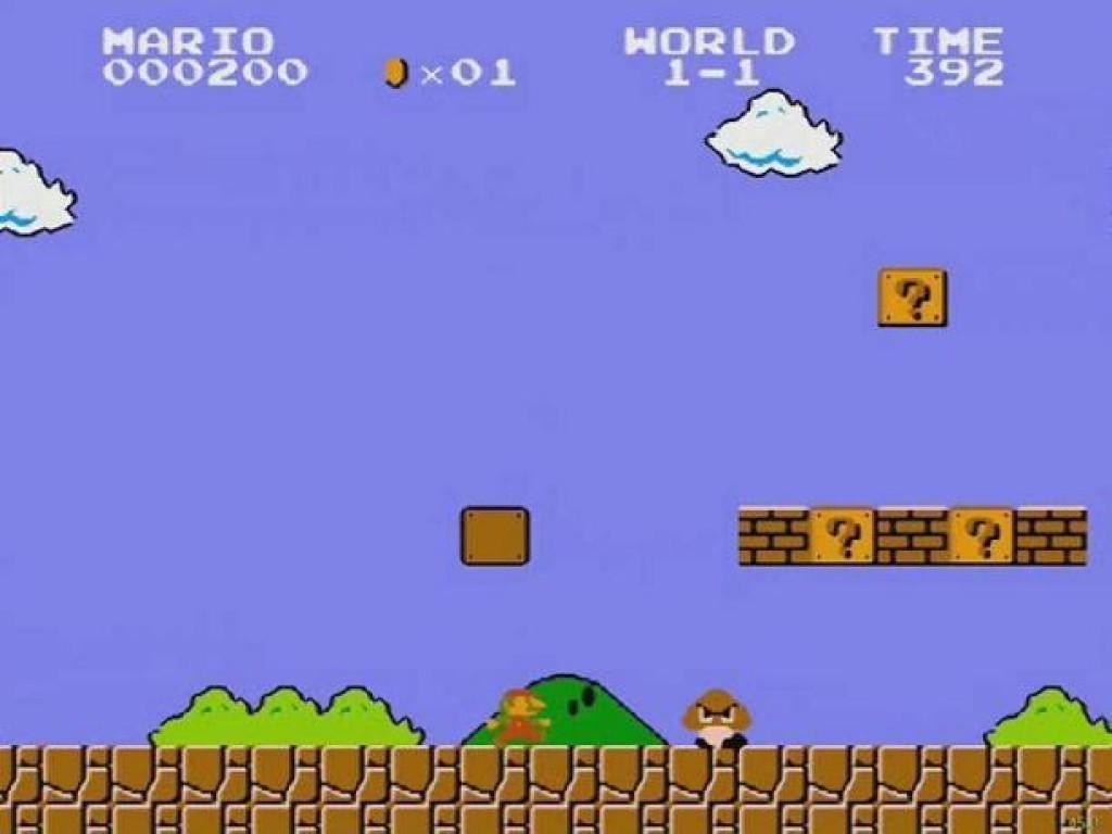Mario Bros Atari Game