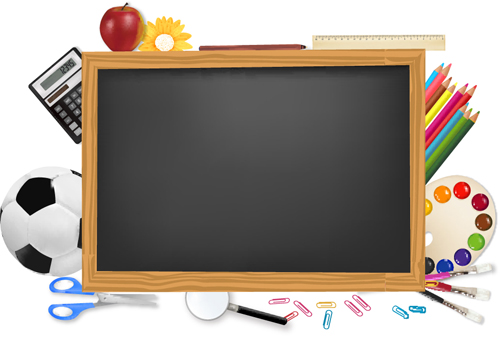 School backgrounds set 07   Vector Background download 500x339