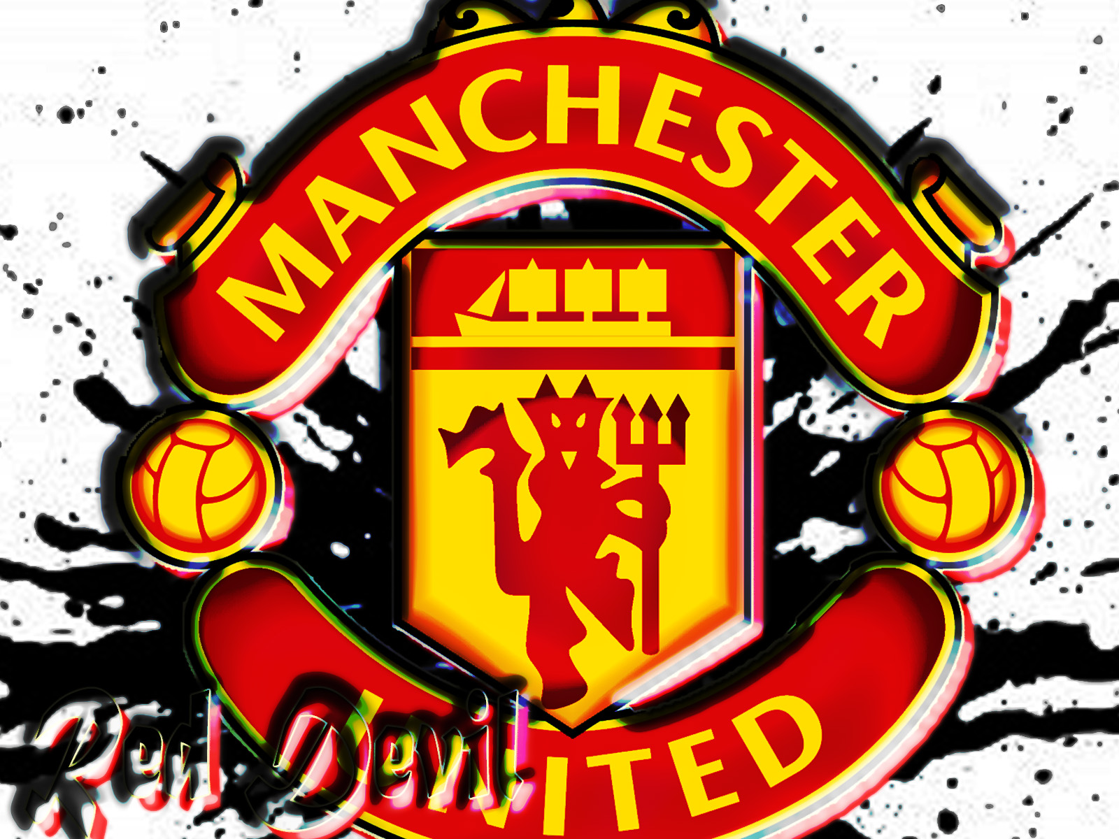 Free Manchester United Logo Wallpaper [