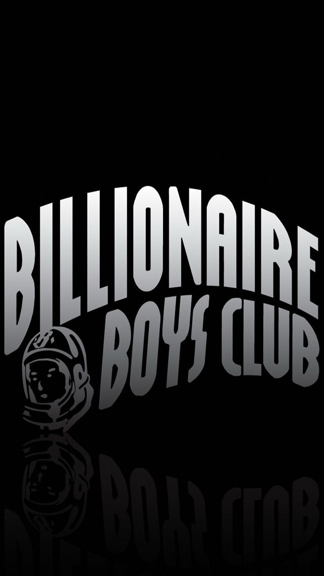 billionaire boys club logo iphone 5 wallpaper Background 640x1136 640x1136