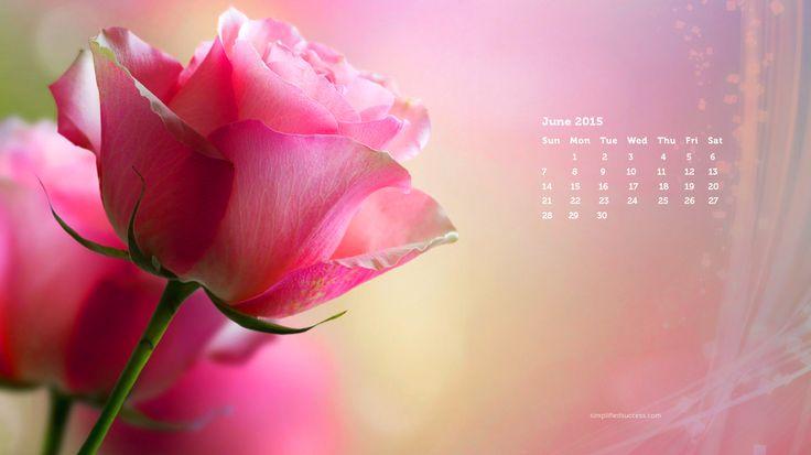 June 2015 desktop wallpaper Calendar Templates Desktop Wallpapers 736x413