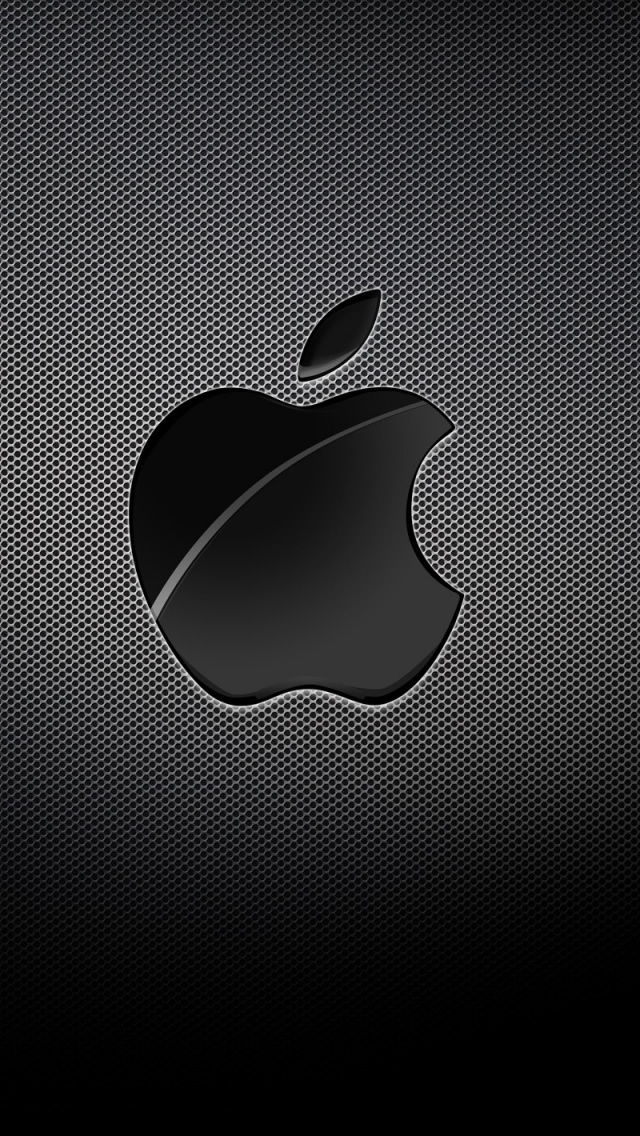 Apple Black Background iPhone 5s wallpaper   Best iPhone 5s wallpapers 640x1136