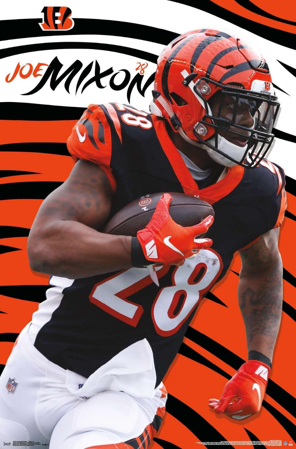Cincinnati Bengals   Joe Mixon cincinnatibengals nflfootball 1000x1518