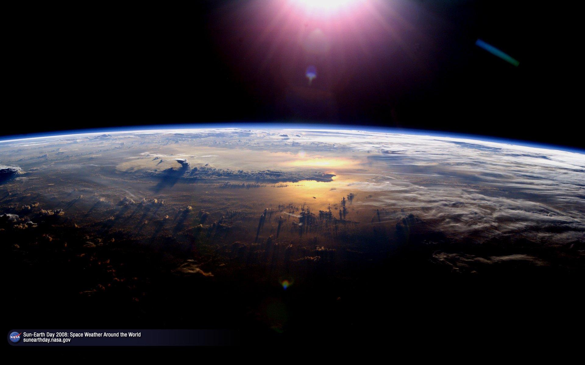 NASA   Sun Earth Day   Space Weather Around the World 1920x1200