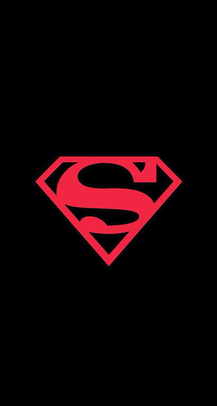 Superman logo wallpaper iPhone 5 Wallpapers Pinterest 736x1376