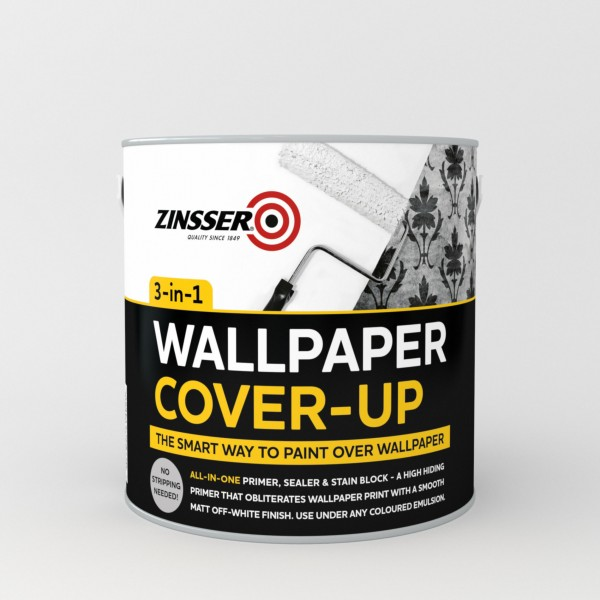 wallpaper cover up the smart way to paint over wallpaper 600x600