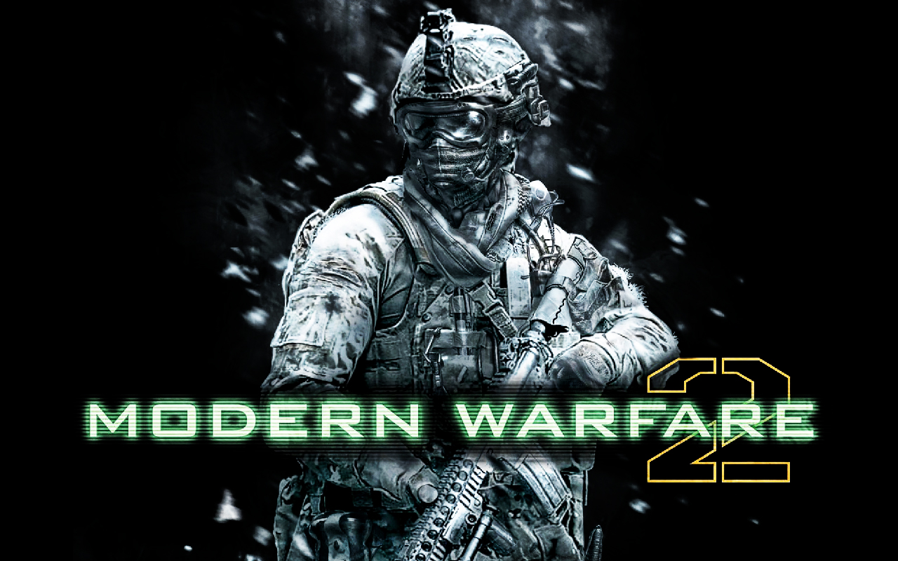 Free Download Cyber Game Wallpaper Call Of Duty Modern Warfare 2