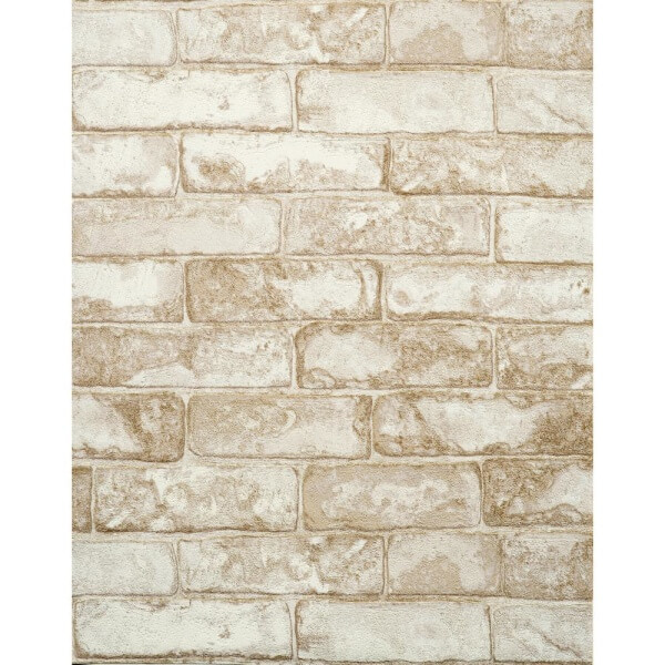 Features Unpasted   Washable   Strippable Rustic Brick RN1030 600x600