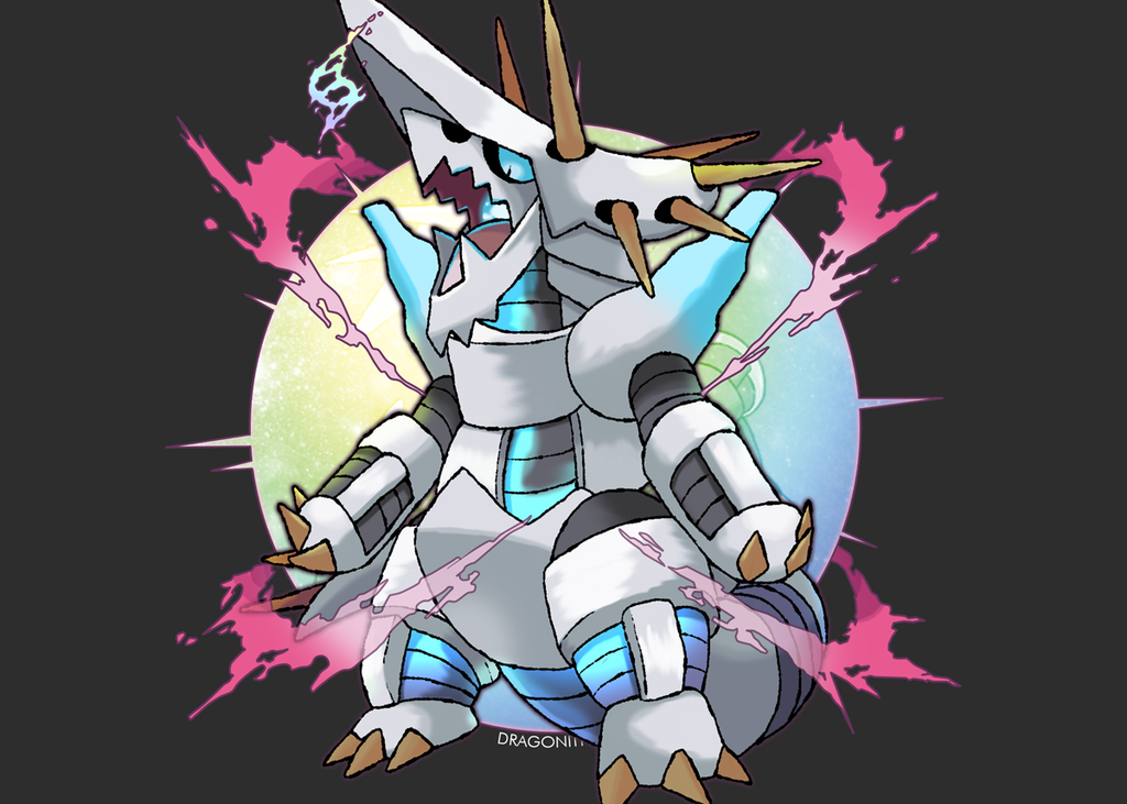 Mega Aggron FAN MADE by Dragonith 1024x731