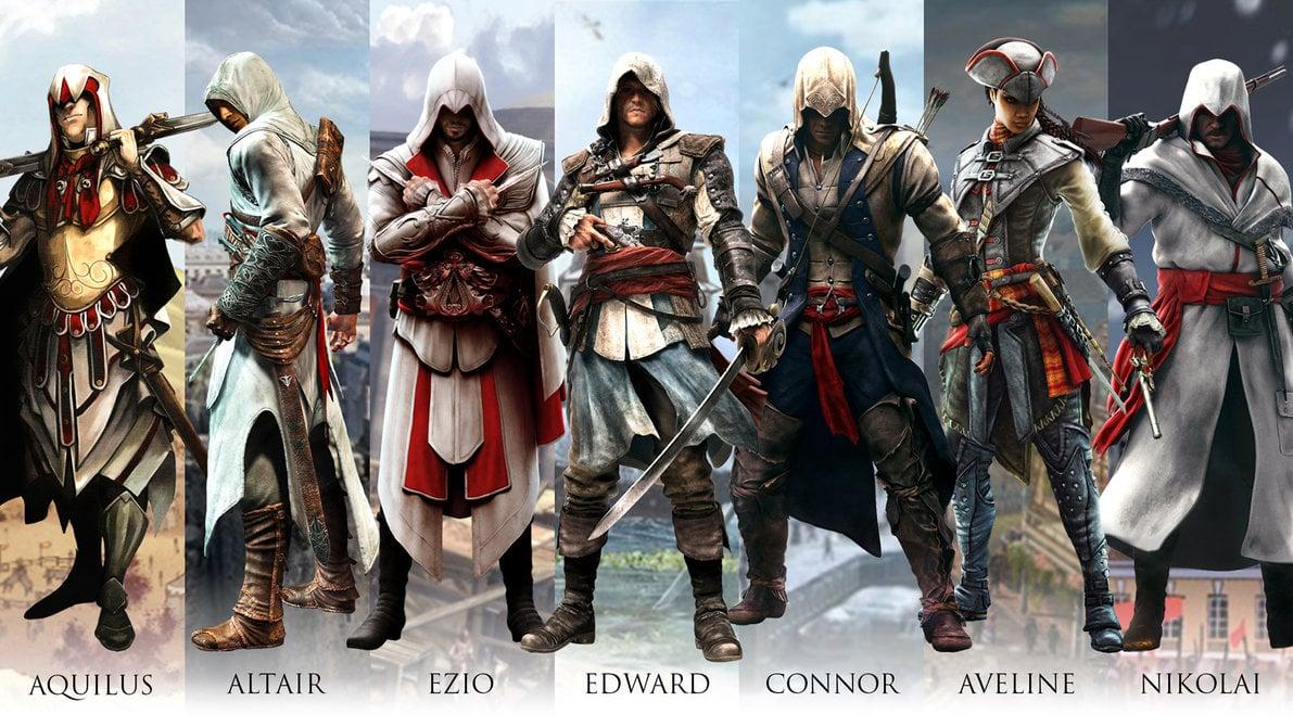 50 Assassin S Creed All Assassin S Wallpaper On Wallpapersafari