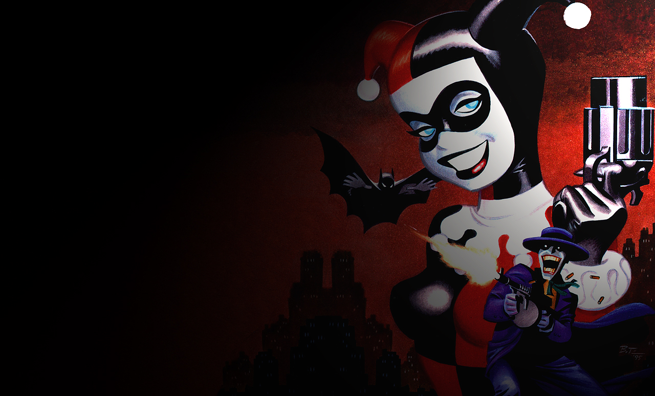 Free Download Batman Harley Quinn Wallpaper 1280x774 For Your