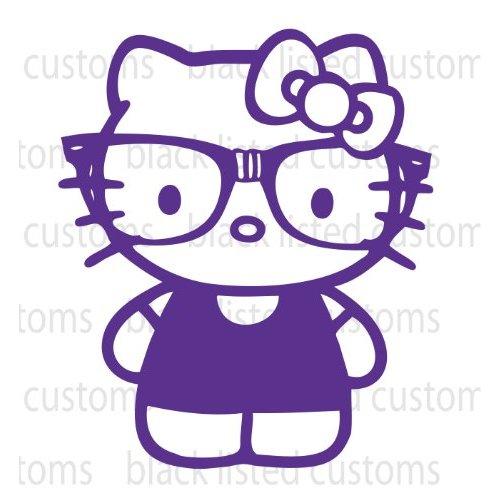 nerd hello kitty wallpaper wallpapersafari