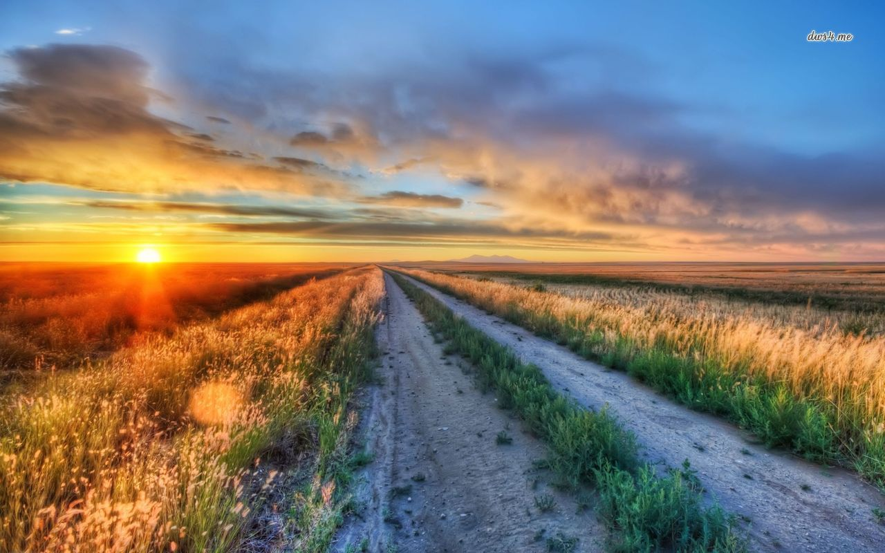 Sunset in Montana wallpaper   Nature wallpapers   22526 1280x800