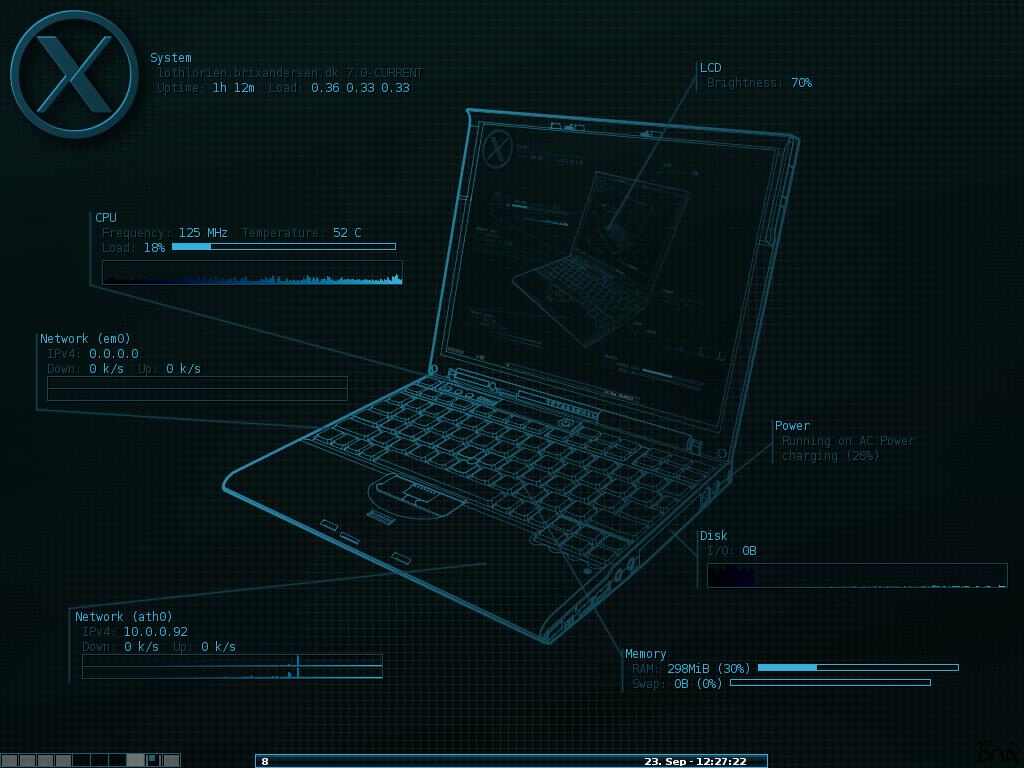 morgan utt Some Lenovo Thinkpad wallpaper 1024x768