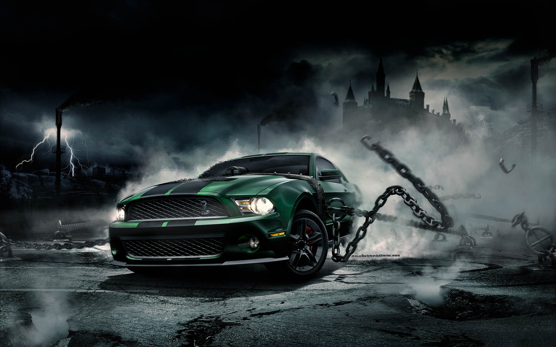 Ford Mustang New Model Epic HD Wallpapers 2017 1920x1200