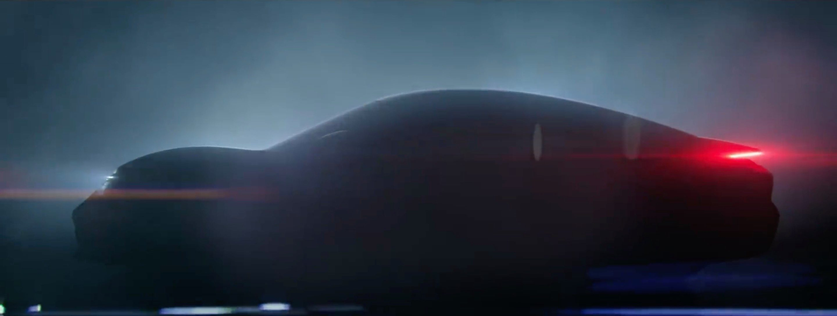 Porsche releases first teaser images of new Taycan Mission E 2880x1088