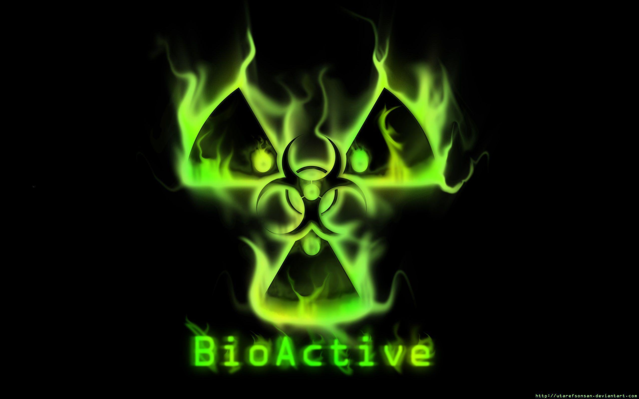 Radioactive Symbol Wallpapers 2560x1600