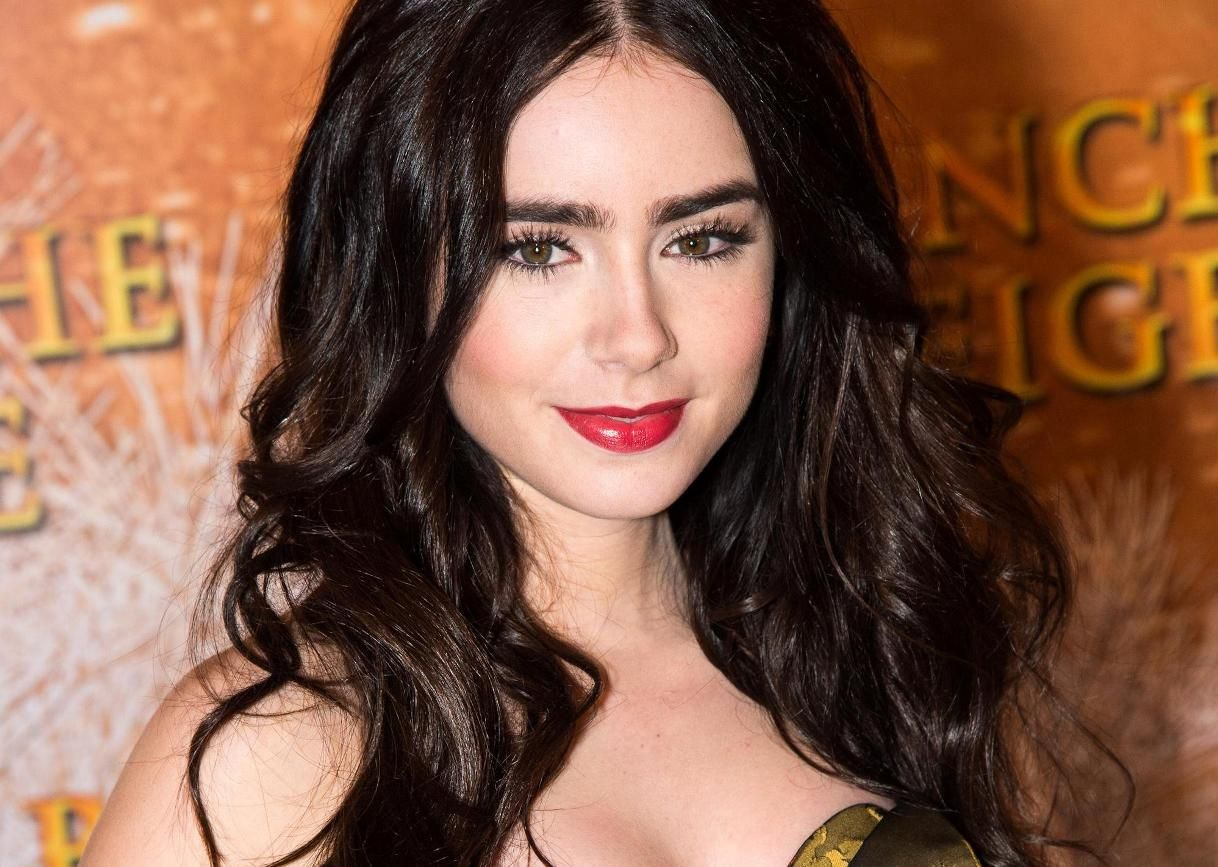 Lily Collins Wallpapers   First HD Wallpapers 1218x867