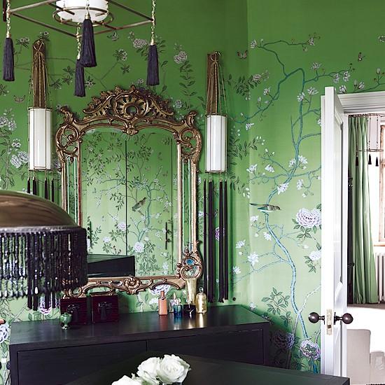 Bedroom wallpaper Bedroom designs Wallpapers Image Housetohome 550x550