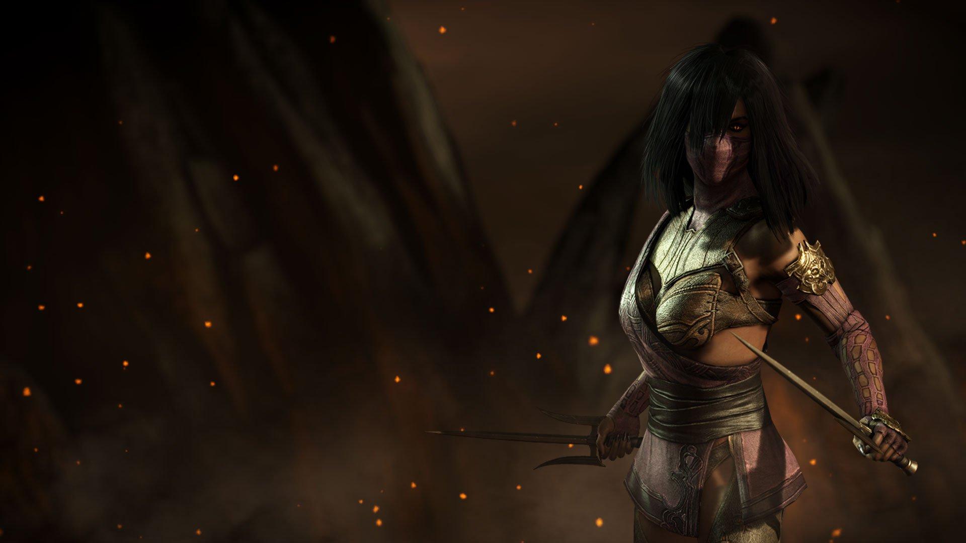 Mortal Kombat X Mileena Wallpaper Wallpapersafari