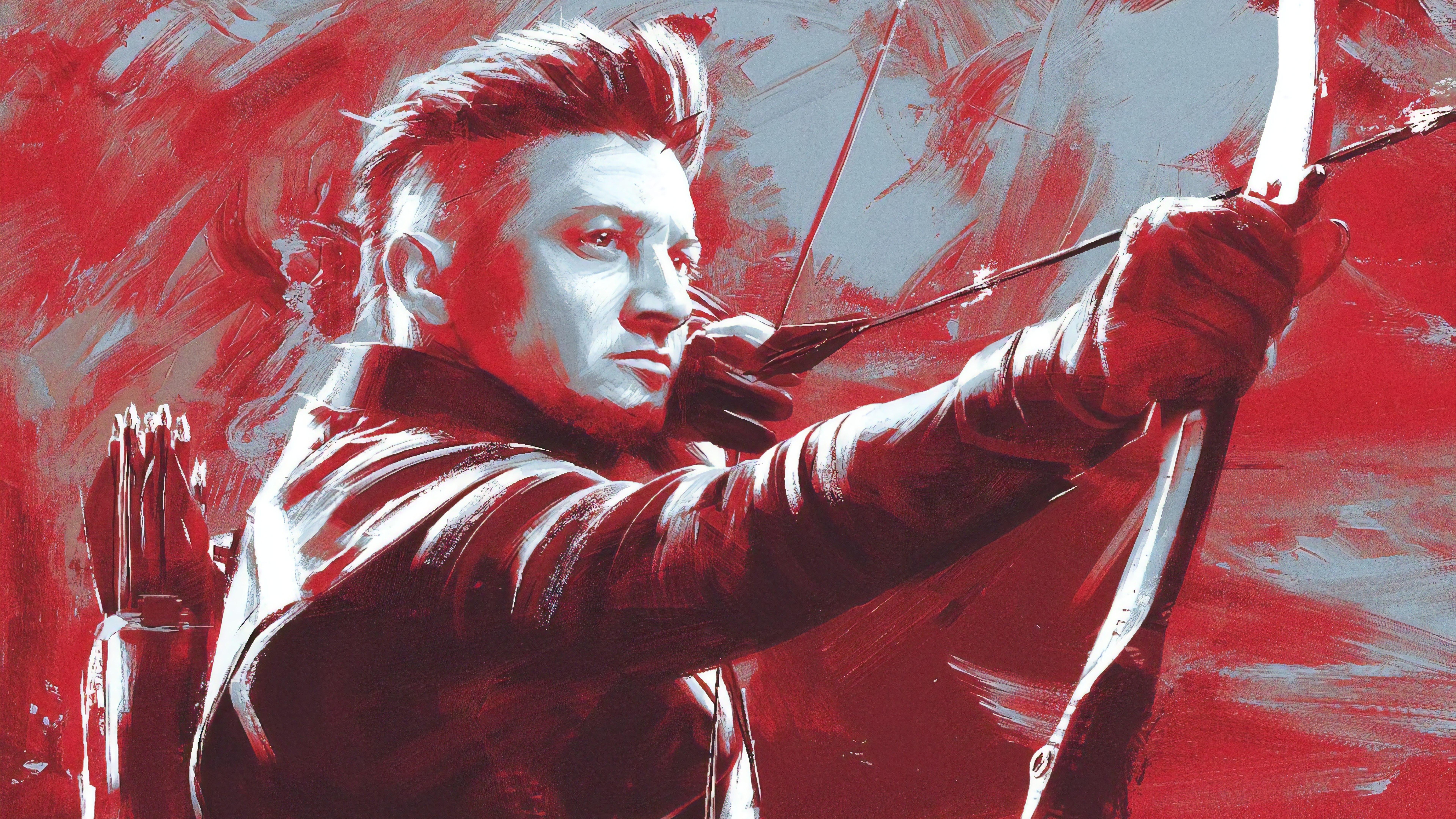 Avengers Endgame   Hawkeye 8k Ultra HD Wallpaper Background 7680x4320