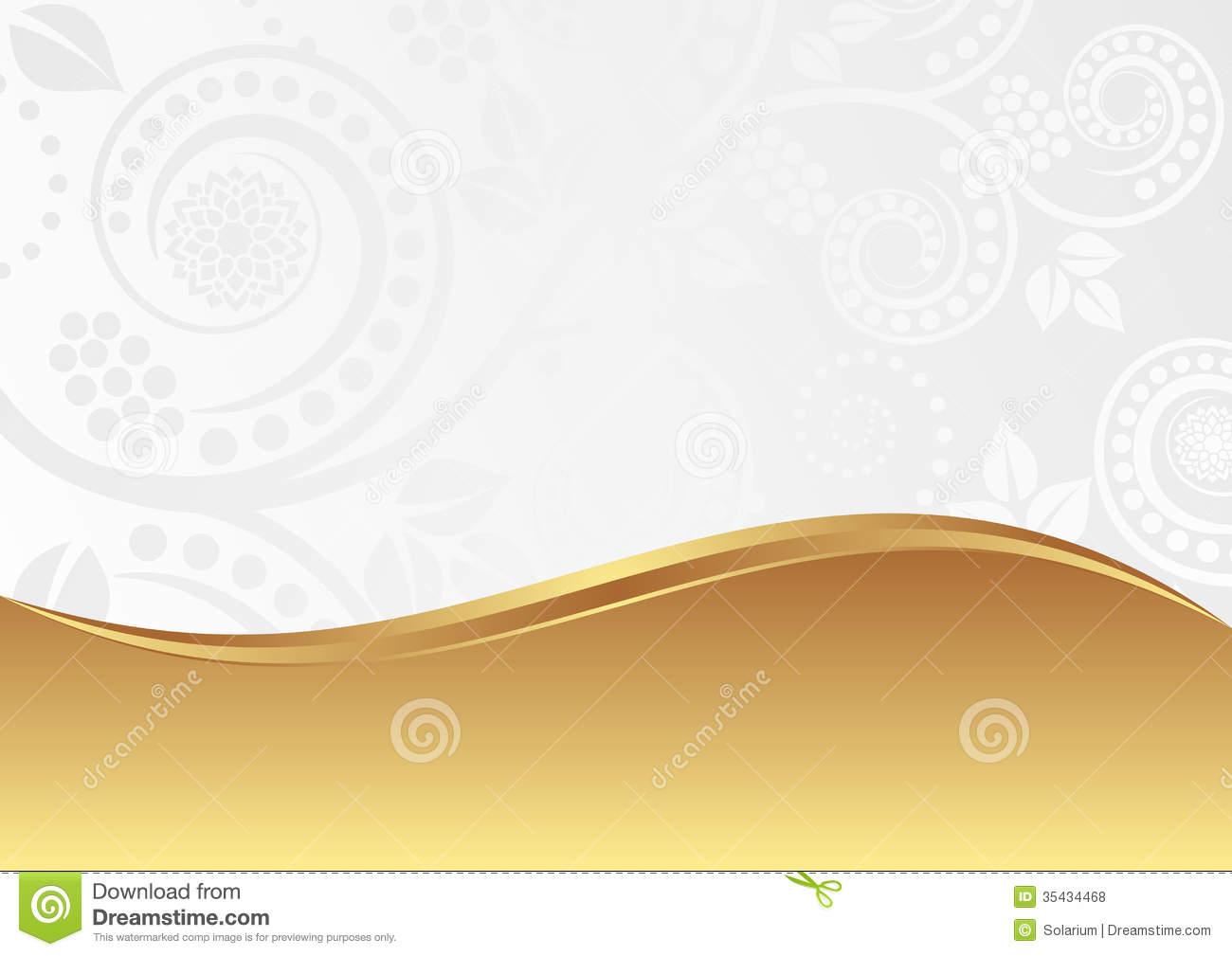 White and Gold Wallpaper - WallpaperSafari