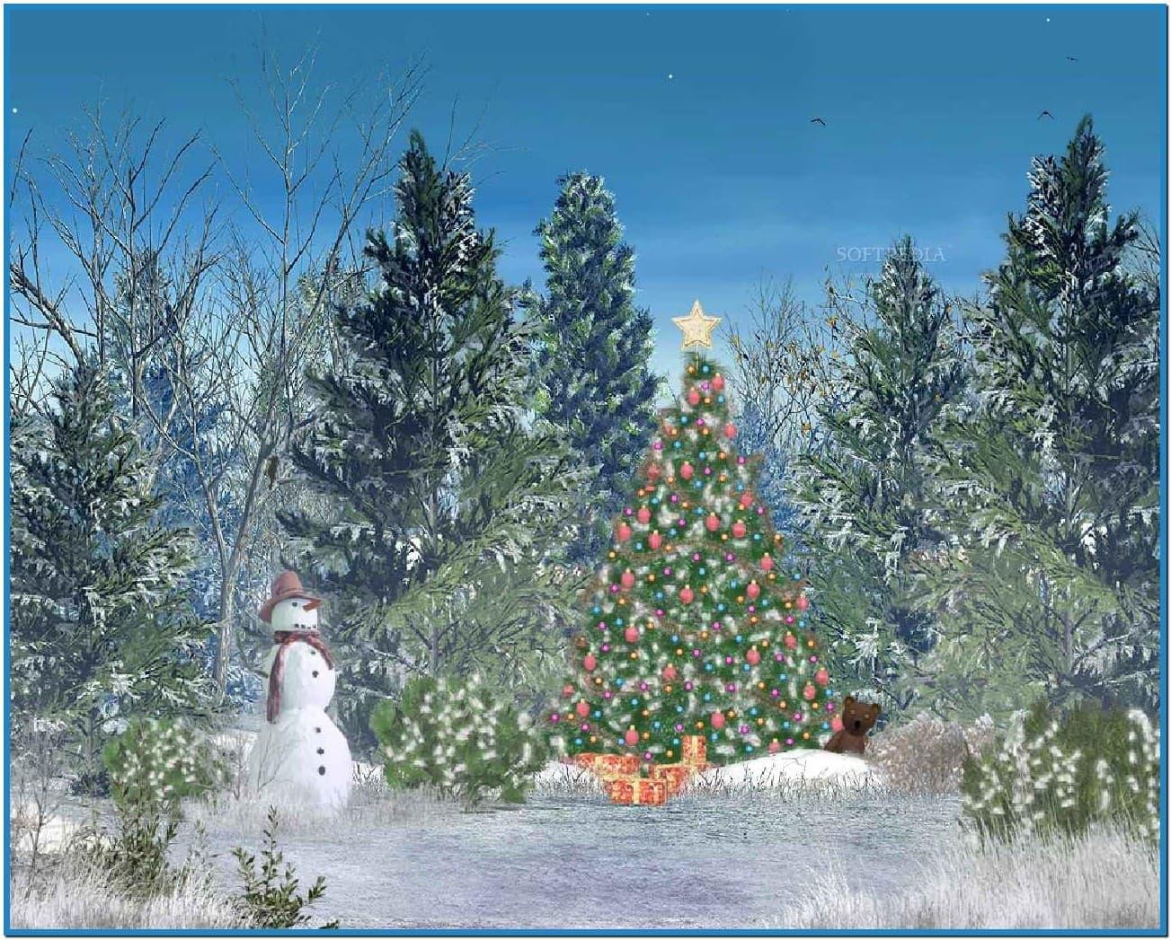 Animated christmas desktop screensavers   Download 1303x1047