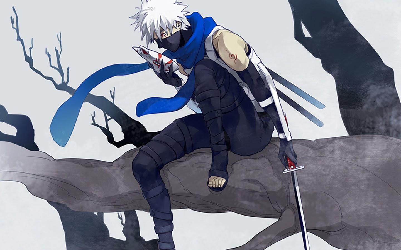 kakashi hatake anbu uniform mask anime hd wallpaper 1440x900 1440x900