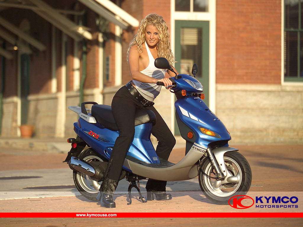 Scooter Wallpaper Gallery   Kymco USA 1024x768
