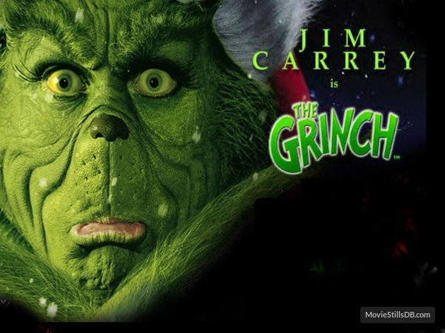 How the Grinch Stole Christmas   Wallpaper with Jim Carrey 630x472