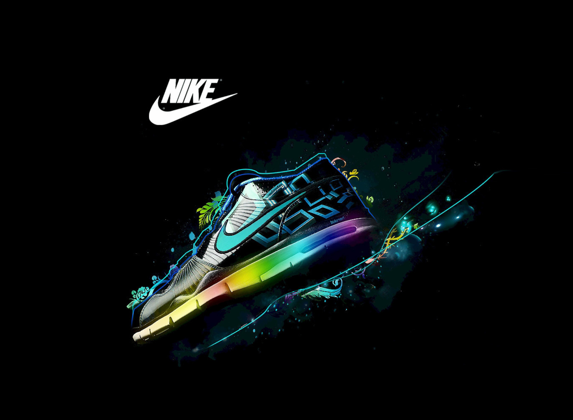 Download Nike Galaxy Wallpaper Gallery 1920x1408