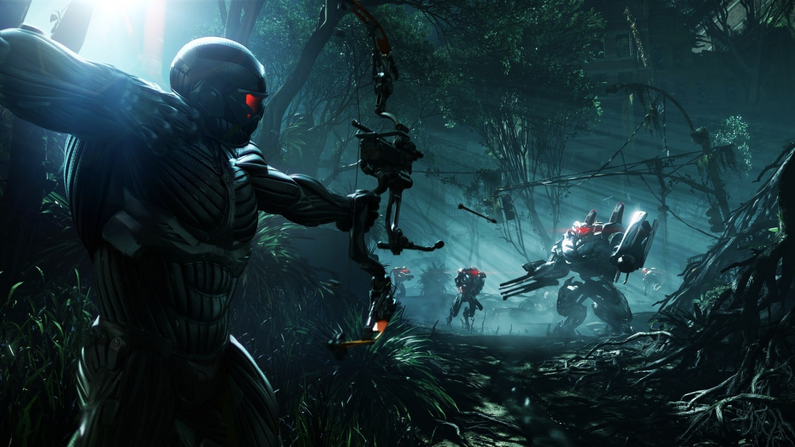 download Crysis 3 wallpaper desktop background in 1600x900 1600x900