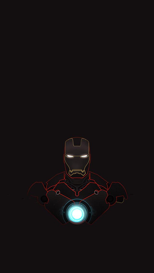 FunMozar Iron Man iPhone Wallpapers 640x1136