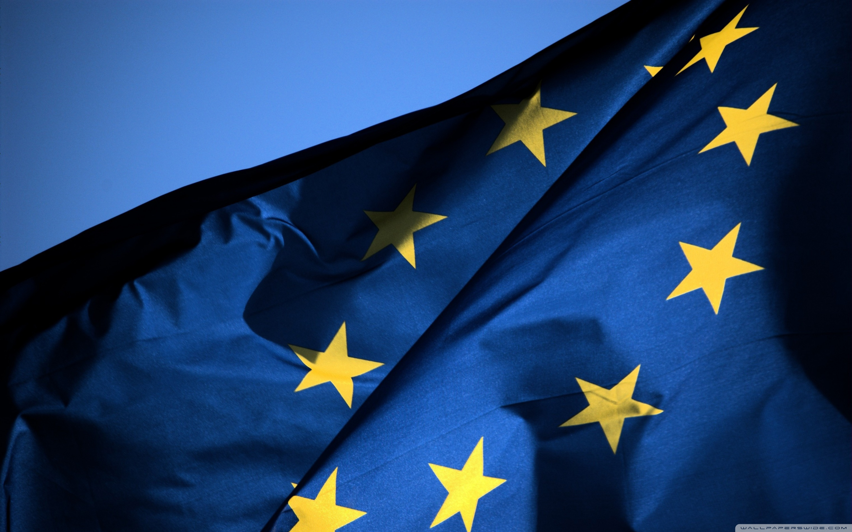 EU Flag 4K HD Desktop Wallpaper for 4K Ultra HD TV Wide 2880x1800