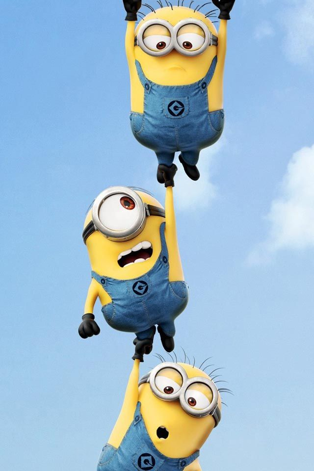 Despicable Me Minion iPhone 4 Wallpaper Iphone Wallpapers 640x960