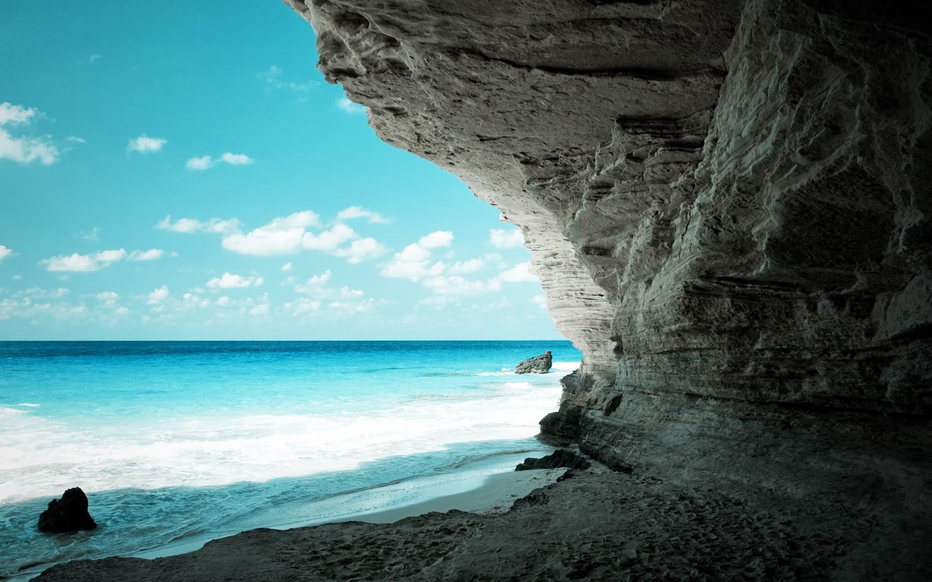 Скалы море природа  № 3800337 загрузить