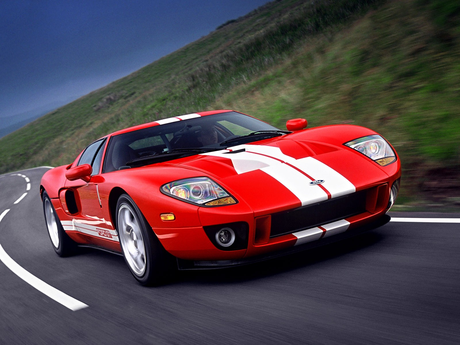 Fast Ford GT Cars Wallpaper HD Dekstop Wallpaper 1600x1200