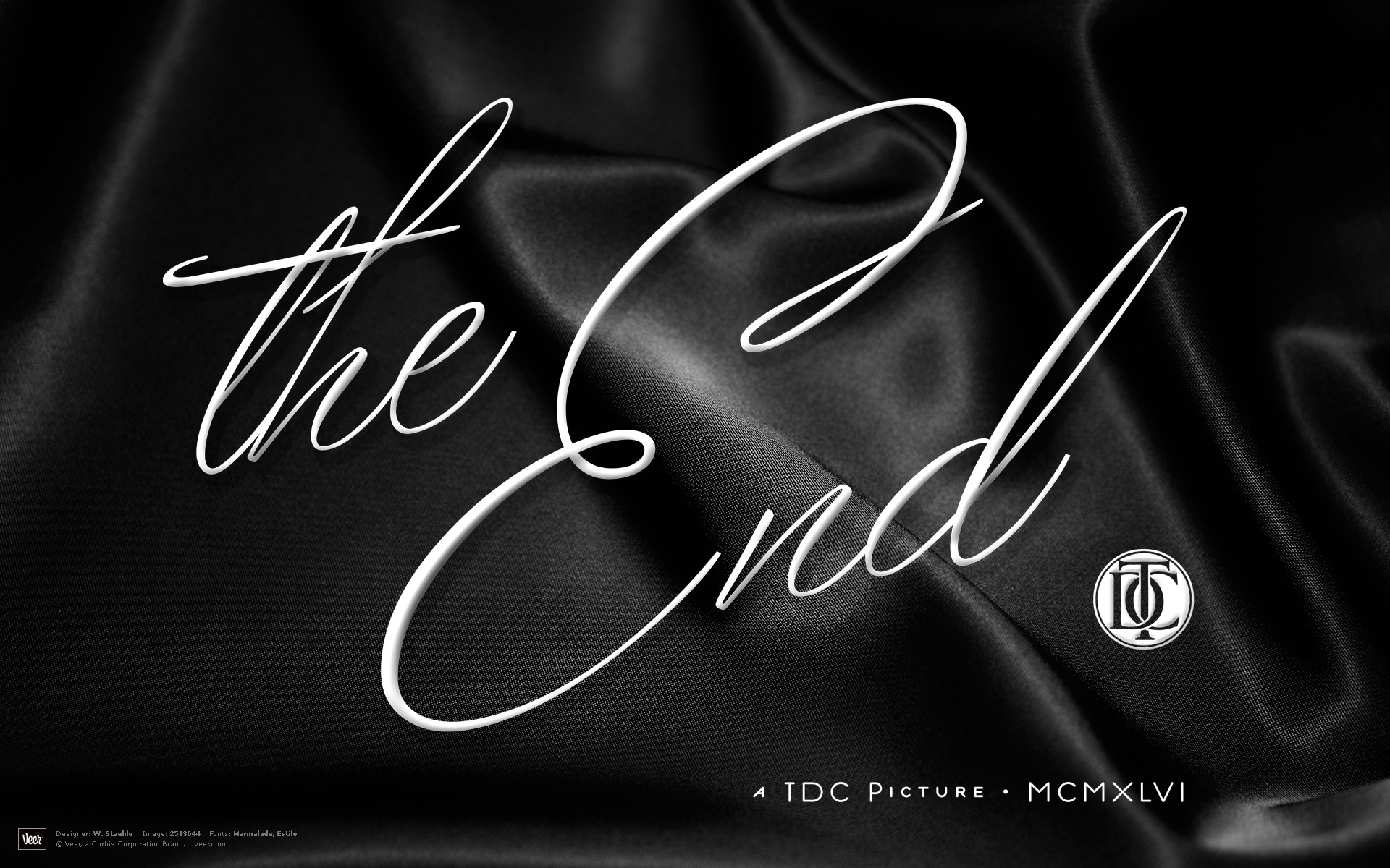 grayscale end movie posters calligraphy cloths wallpaper background 1920x1200