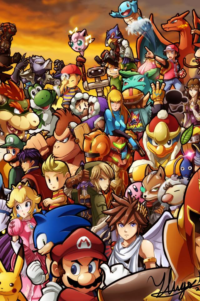 47+] Super Smash Bros Phone Wallpaper on WallpaperSafari