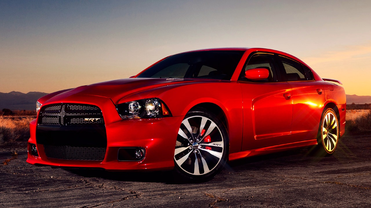 Red Dodge Charger 2011 HD Wallpapers Epic Desktop Backgrounds 1280x720