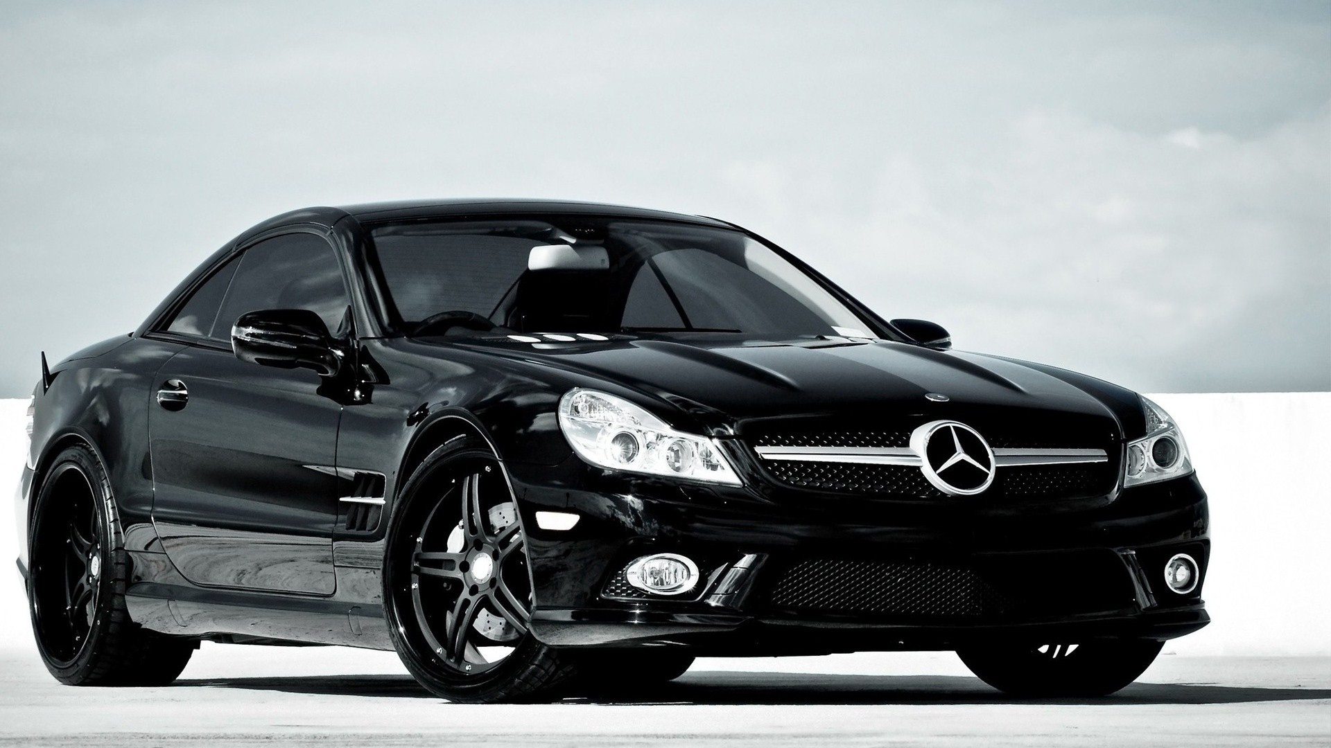 Mercedes Benz Wallpaper 1920x1080 Mercedes Benz Black Cars 1920x1080