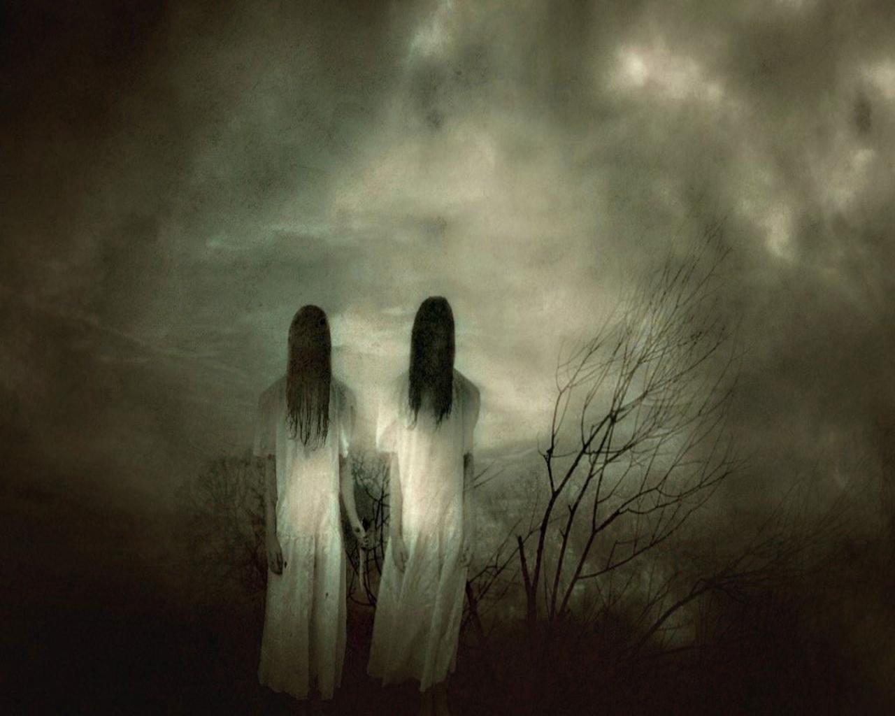 Scary Ghost Wallpapers - WallpaperSafari