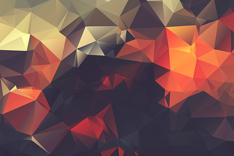 Nexus polygon wallpaper