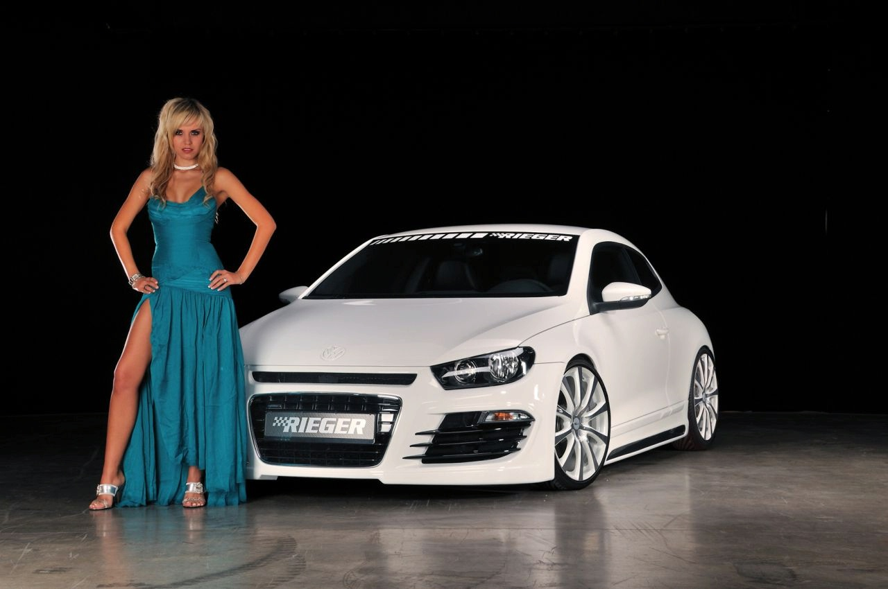 LAdies Of Cars Volkswagen Scirocco Sexy Beauty Babes Women Girl 1280x850