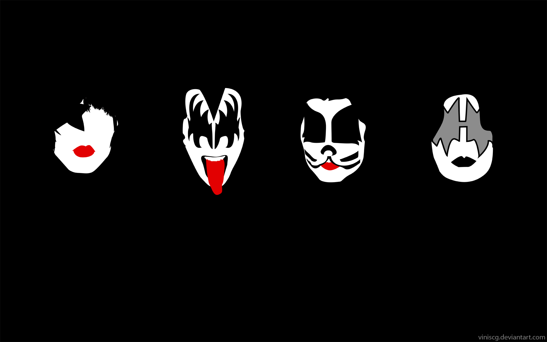 Kiss The Band Wallpaper 1920x1200